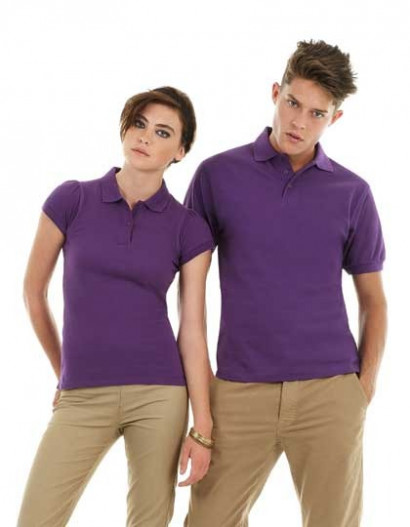 "Polo-Shirt ""Heavy Mill Unisex"" B&C"
