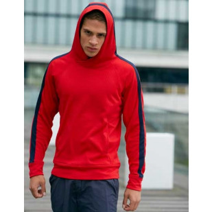 """Men´s Hooded Fleece Pull"" James+Nicholson"
