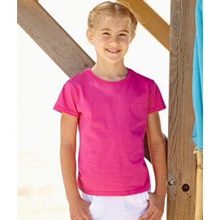"T-Shirt ""Kids Girls Valueweight"" Fruit of the Loom"