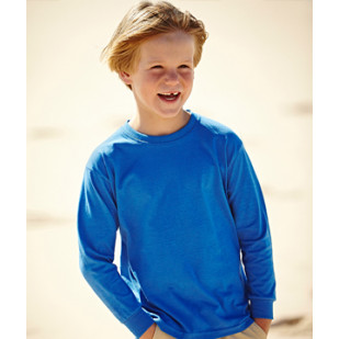 "Langarmshirt ""Kids Longsleeve Valueweight"" Fruit of the Loom"