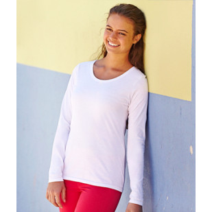 "Langarmshirt ""LadyFit Valueweight Longsleeve"" Fruit of the Loom"