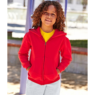 "Hoodie-Jacke ""Classic Kids Hooded Sweat Jacket"" Fruit of the Loom"