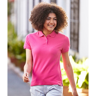 """Lady Fit Premium Polo"" Fruit of the Loom"