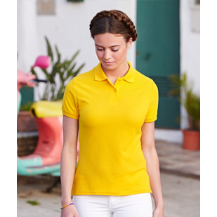 """Lady Fit 65/35 Polo"" Fruit of the Loom"
